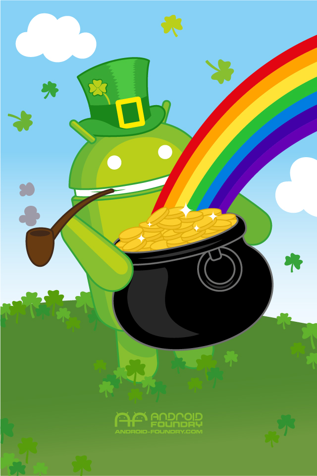 Wallpaper St Paddys Day Android Foundry