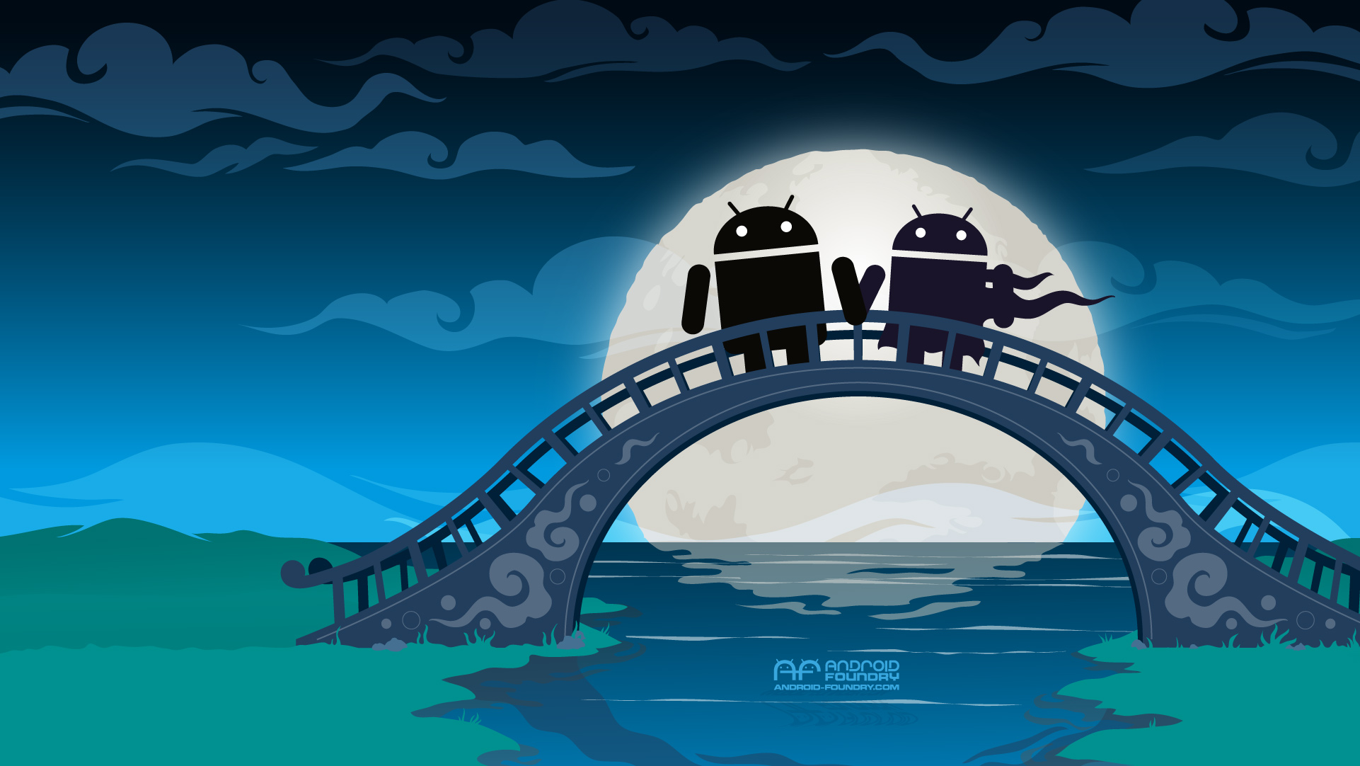 Download Wallpaper Love Android - 071812_Android_QixiFestival_wallpaper  Pictures_45661.jpg