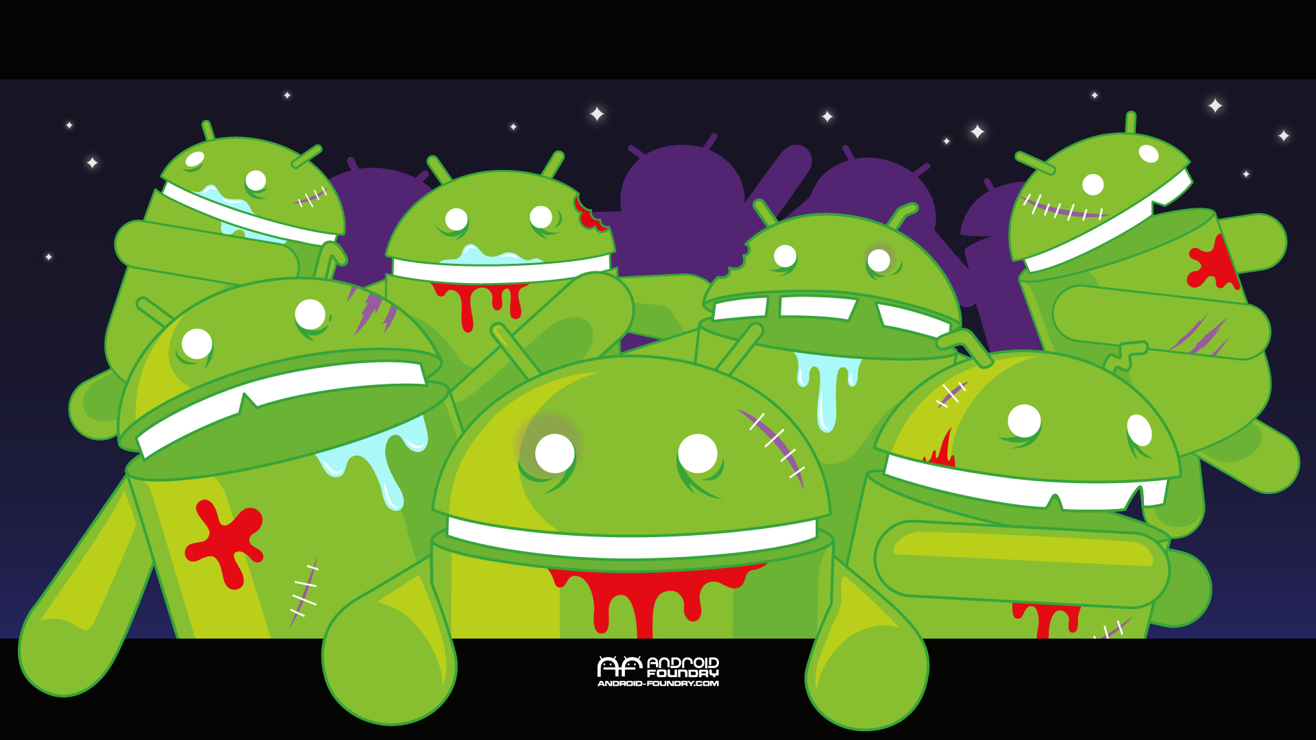 android foundry zombie wallpaper