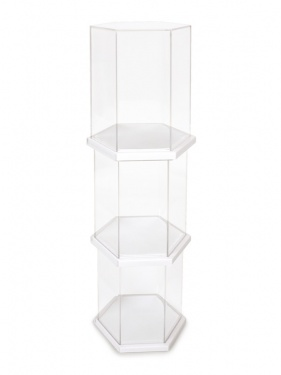 DisplayCase_HexWhite_3Pack_3